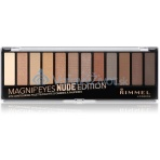 Rimmel London Magnif'Eyes Eye Contouring Palette 14,16g - 001 Nude Edition