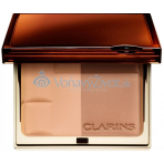 Clarins Bronzing Duo Mineral Powder Compact 10g - 01 Light