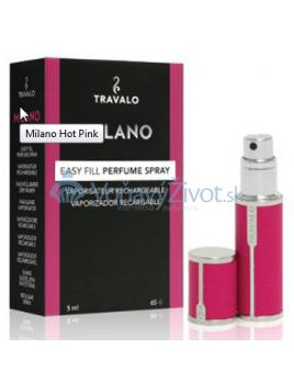 Travalo Milano plnitelný flakon 5ml, hot pink