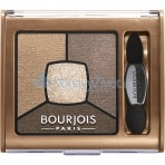 Bourjois Paris Smoky Stories Quad Eyeshadow Palette 3,2g - 06 Upside Brown