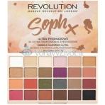 Makeup Revolution London Soph x Ultra Eyeshadows 26,4g