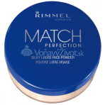 Rimmel London Match Perfection Silky Loose Face Powder 10g - 001 Transparent