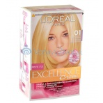 L'Oréal Paris Excellence Creme Hair Colour 1ks W 01 Lightest Natural Blonde