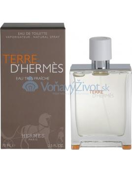 Hermes Terre D Hermes Eau Tres Fraiche Toaletná voda 75ml M