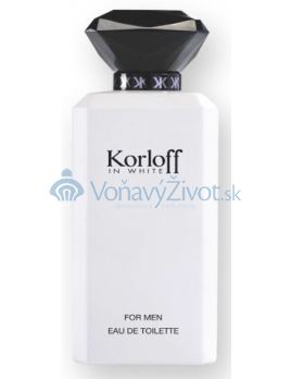 Korloff In White M EDT 88ml TESTER