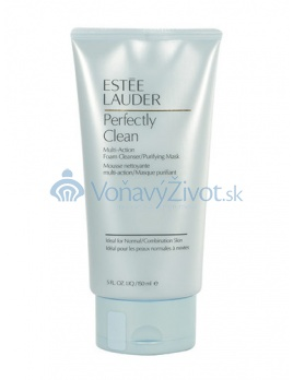 E.LAUDER Perfectly Clean Multi-Action Foam Cleanser/Purifying Mask 150ml
