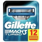 Gillette Mach 3 Turbo 12ks