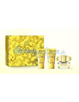 Versace Yellow Diamond EDT 5ml + SG 25ml + BL 25ml SET mini