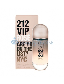 Carolina Herrera 212 VIP Rose W EDP 80ml TESTER