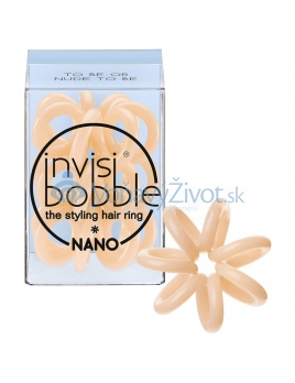 Invisibobble NANO To Be Or Nude To Be - béžová