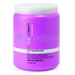 Inebrya ANTI-YELLOW MASK FOR BLONDE, BLEACHED OR GREY HAIR 1000ml