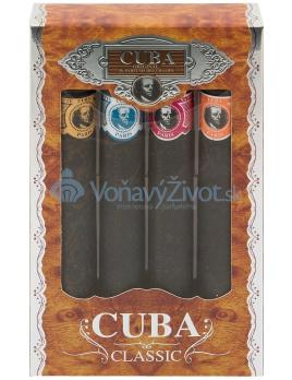 Cuba Cuba Set Toaletná voda 4x35ml M