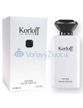 Korloff In White M EDT 88ml