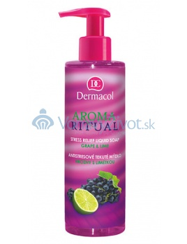Dermacol Aroma Ritual Liquid Soap Grape&Lime 250ml W