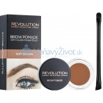 Makeup Revolution London Brow Pomade 2,5g - Soft Brown