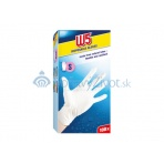 Latexové rukavice W5 100ks balenie, veľkosť S
