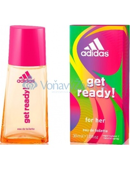 Adidas Get Ready! W EDT 30ml