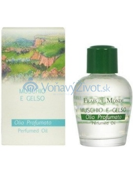 Frais Monde Musk And Mulberry Perfumed Oil Parfémovaný olej 12ml W
