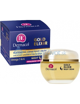 Dermacol Gold Elixir Rejuvenating Caviar Night Cream 50ml W