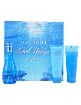 Davidoff Cool Water W EDT 100ml + BL 75ml + SG 75ml
