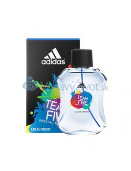 Adidas Team Five Toaletná voda 100ml M