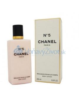 Chanel No.5 dámské tělové mlieko 200 ml