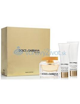 Dolce & Gabbana The One W EDP 75ml + BL 50ml + SG 50ml