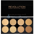 Makeup Revolution London Ultra Cover And Conceal Palette 10g - Light-Medium