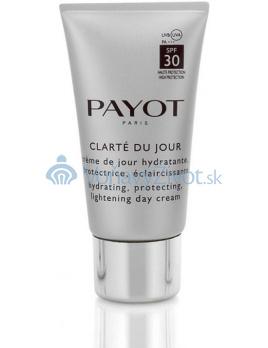 Payot Clarté du Jour SPF 30 hydratační, ochranný a zesvětlující denní krém 50 ml