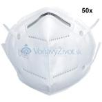 50x Respirátor KN95 FFP2