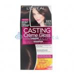 L'Oréal Paris Casting Creme Gloss 1ks W 323 Darkest Chocolate