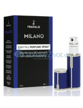Travalo Milano plnitelný flakon 5ml, modrý