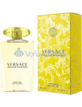 Versace Yellow Diamond Sprchový gél 200ml W