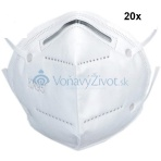 20x Respirátor KN95 FFP2