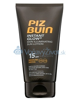 PIZ BUIN Instant Glow Skin Illuminating Sun Lotion SPF 15 150ml