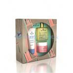 Nuxe Essential Face Care dárková sada (denní pleťová péče Creme Fraiche de Beauté 30ml + suchý olej Huile Prodigieuse 50ml + pleťová maska Insta-Masque 50ml)
