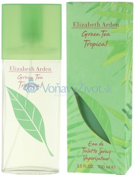 Elizabeth Arden Green Tea Tropical W EDT 100ml
