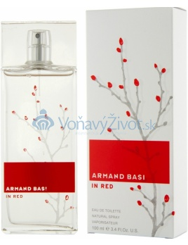 Armand Basi In Red W EDT 100ml