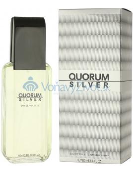 Antonio Puig Quorum Silver Toaletná voda 100ml M