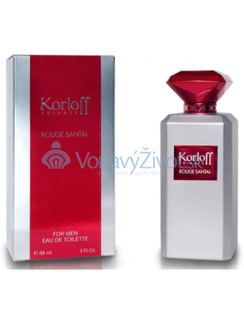 Korloff Private Rouge Santal M EDT 88ml