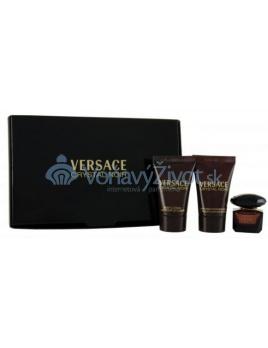 Versace Crystal Noir W EDT 5ml + BL 25ml + SG 25ml