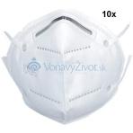 10x Respirátor KN95 FFP2