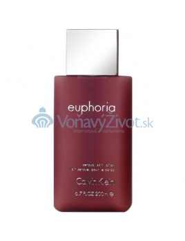 Calvin Klein Euphoria for Women Sensual Skin Lotion W 200ml