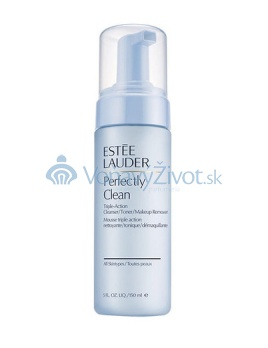 E.LAUDER Perfectly Clean Triple-Action Cleanser/Toner/Make up Remover 150ml