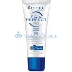 Rimmel London Fix & Perfect PRO Primer 30ml - 002 Transparent