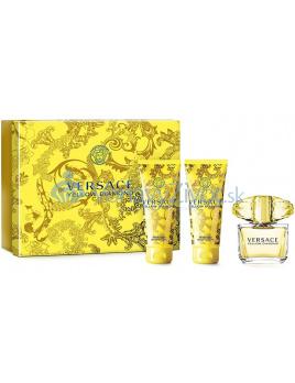 Versace Yellow Diamond W EDT 50ml + SG 50ml + BL 50ml SET