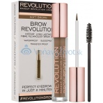Makeup Revolution London Brow Revolution 3,8ml - Soft Brown