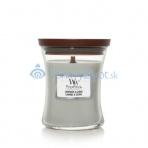 WoodWick vonná svíčka s dřevěným knotem Lavender & Cedar 453g
