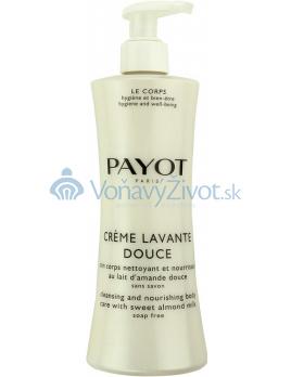 Payot Creme Lavante Douce čisticí a vyľivující sprchový krém na tělo, bez mýdla 400 ml