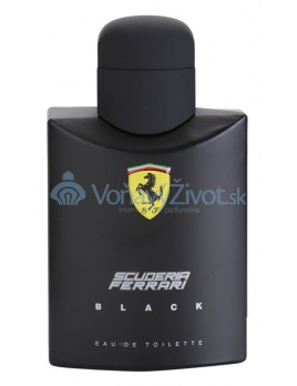 Ferrari Scuderia Black M EDT 125ml TESTER